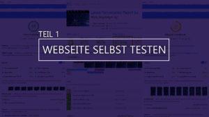 Thumbnail Blog Webseite selbst testen