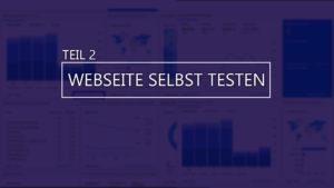 Thumbnail Blog Webseite selbst testen teil 2