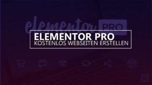 Elementor für die Webseitenerstellung